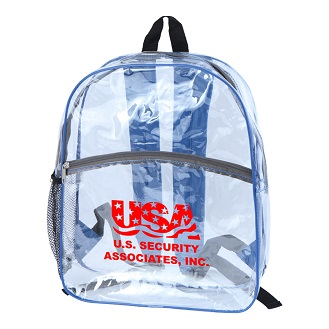 Picture of Clear Vinyl Backpack