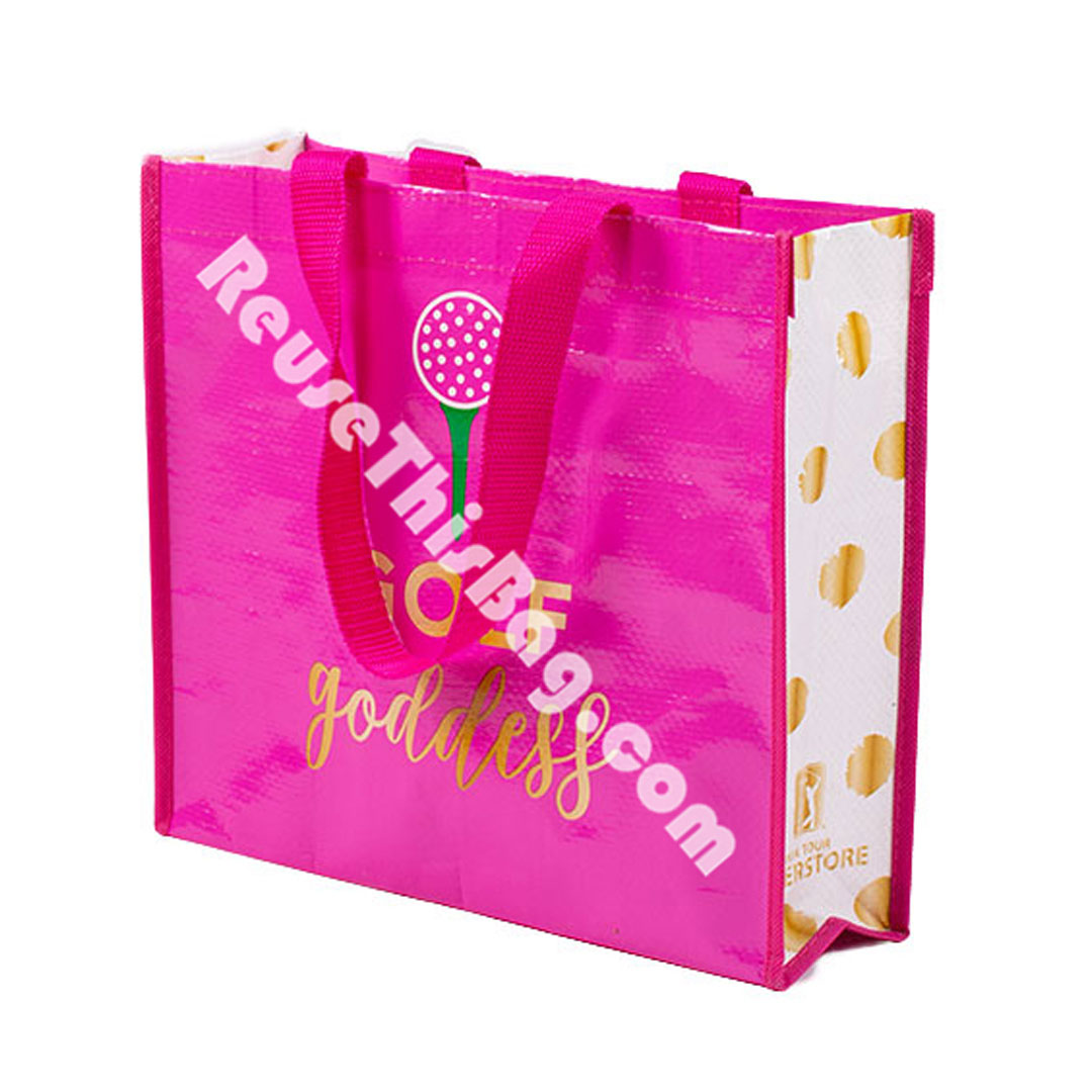 Picture of Small Laminated Reusable Gift Bag