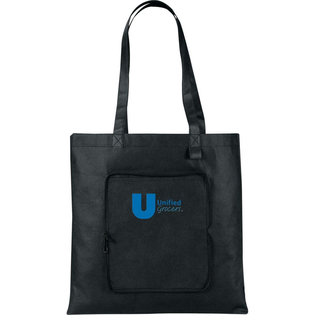 Picture of Foldable Non-Woven Convention Tote