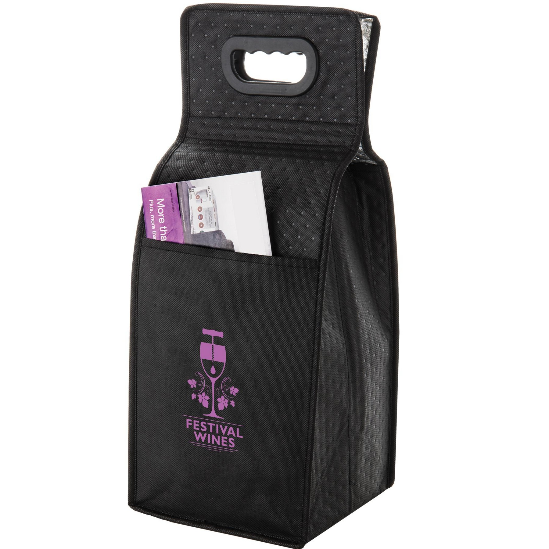 Picture of Insulated 4 Bottle Wine Tote
