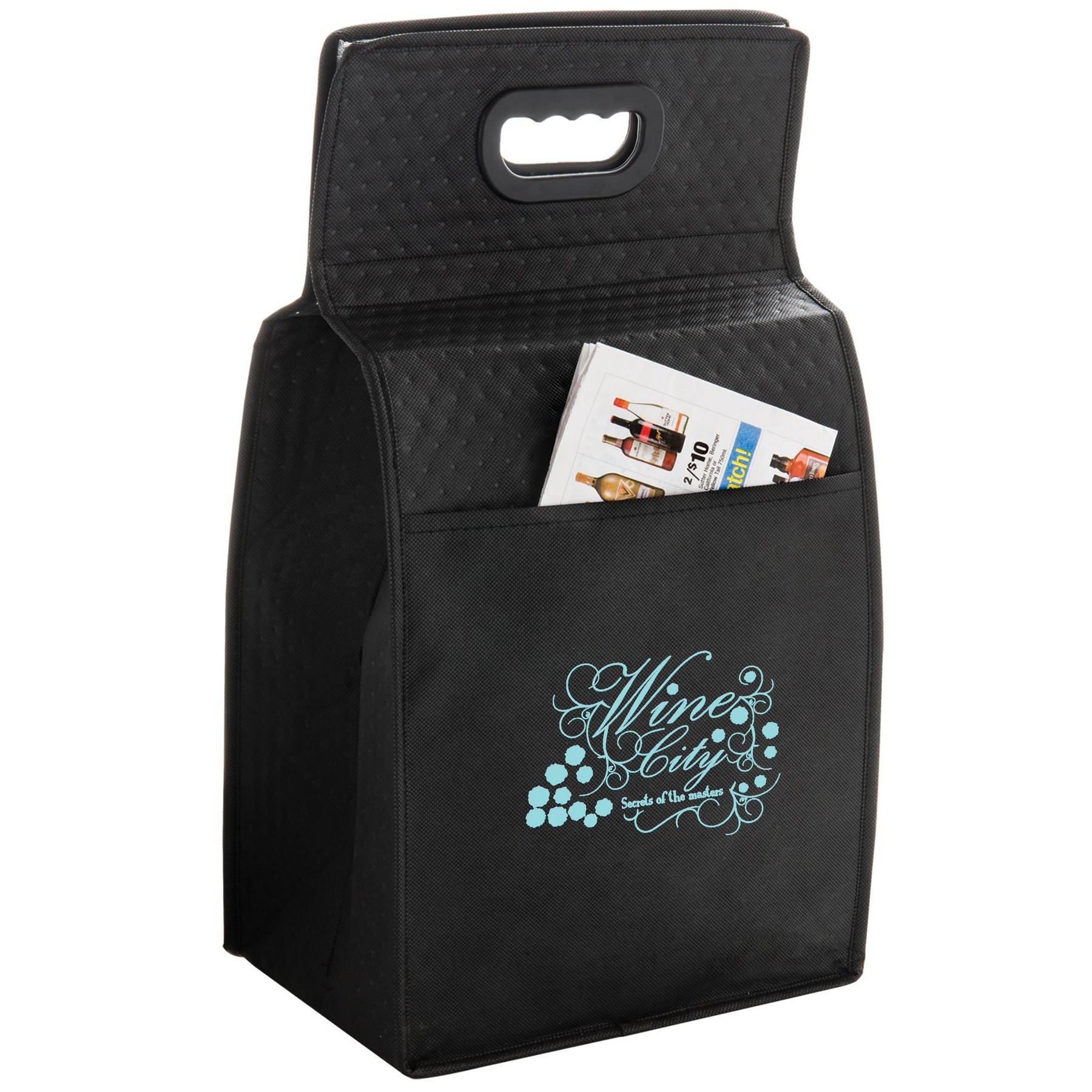 Picture of Insulated 6 Bottle Tote Bag