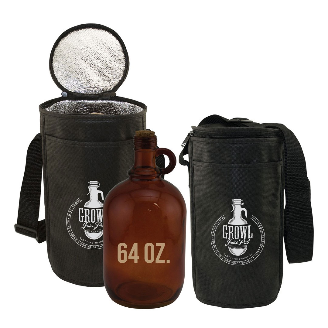 Picture of Insulated Barrel Bag with Handle