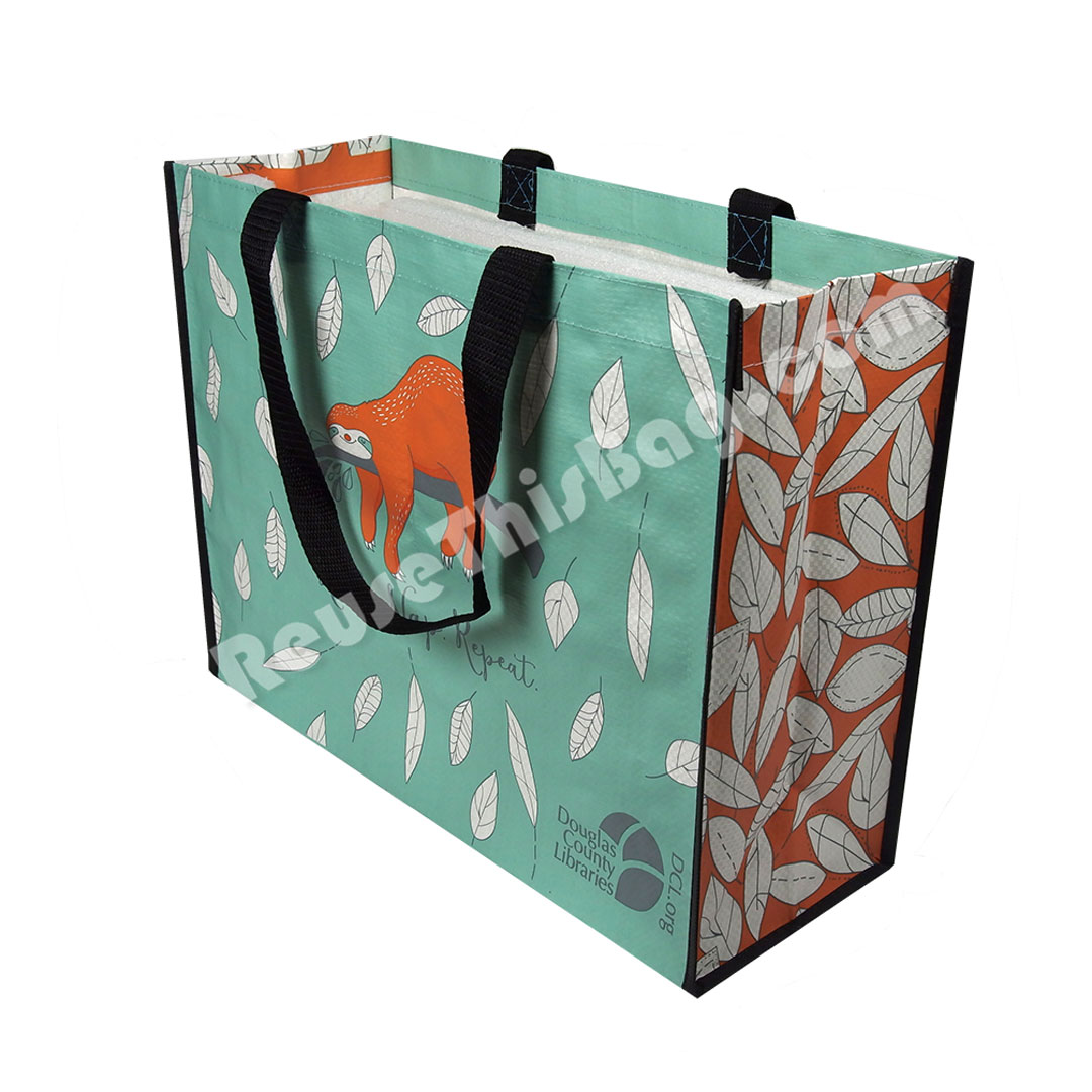 Picture of Laminated Brief Shopper Reusable Bag