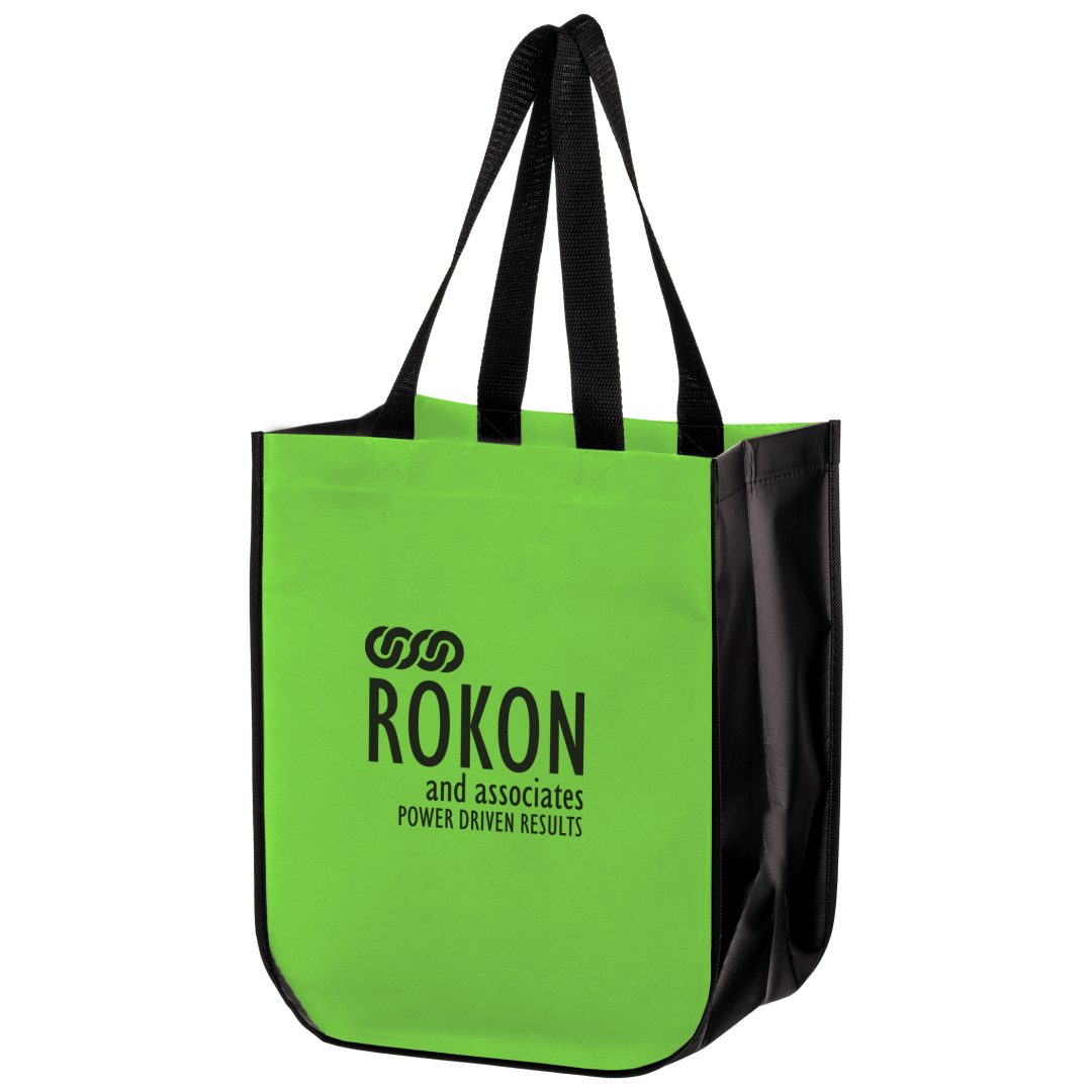Picture of Large Curved Laminated Tote
