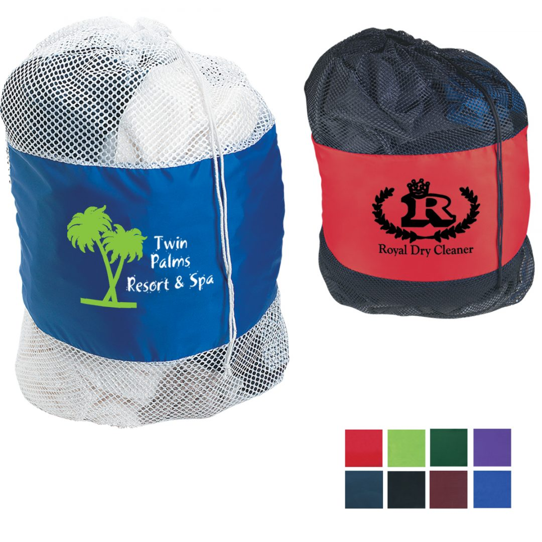 Picture of Mesh Laundry Bag with Drawstring Closure