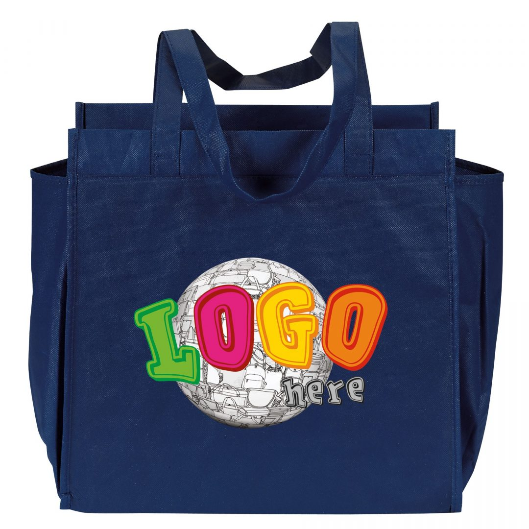 """Picture of """"Metro"""" Reusable Grocery Bag"""