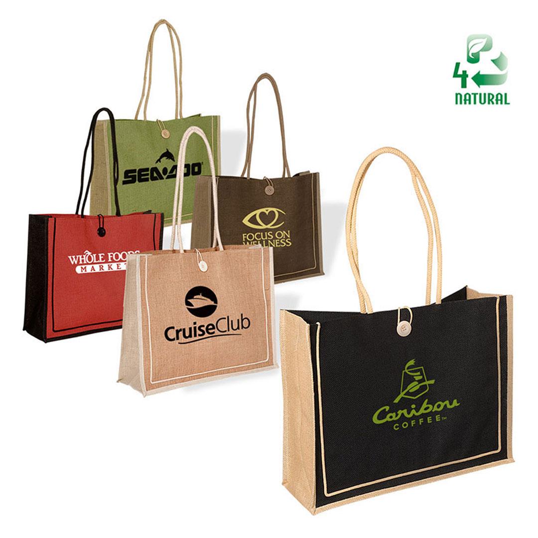 Picture of Milan Jute Tote Bag