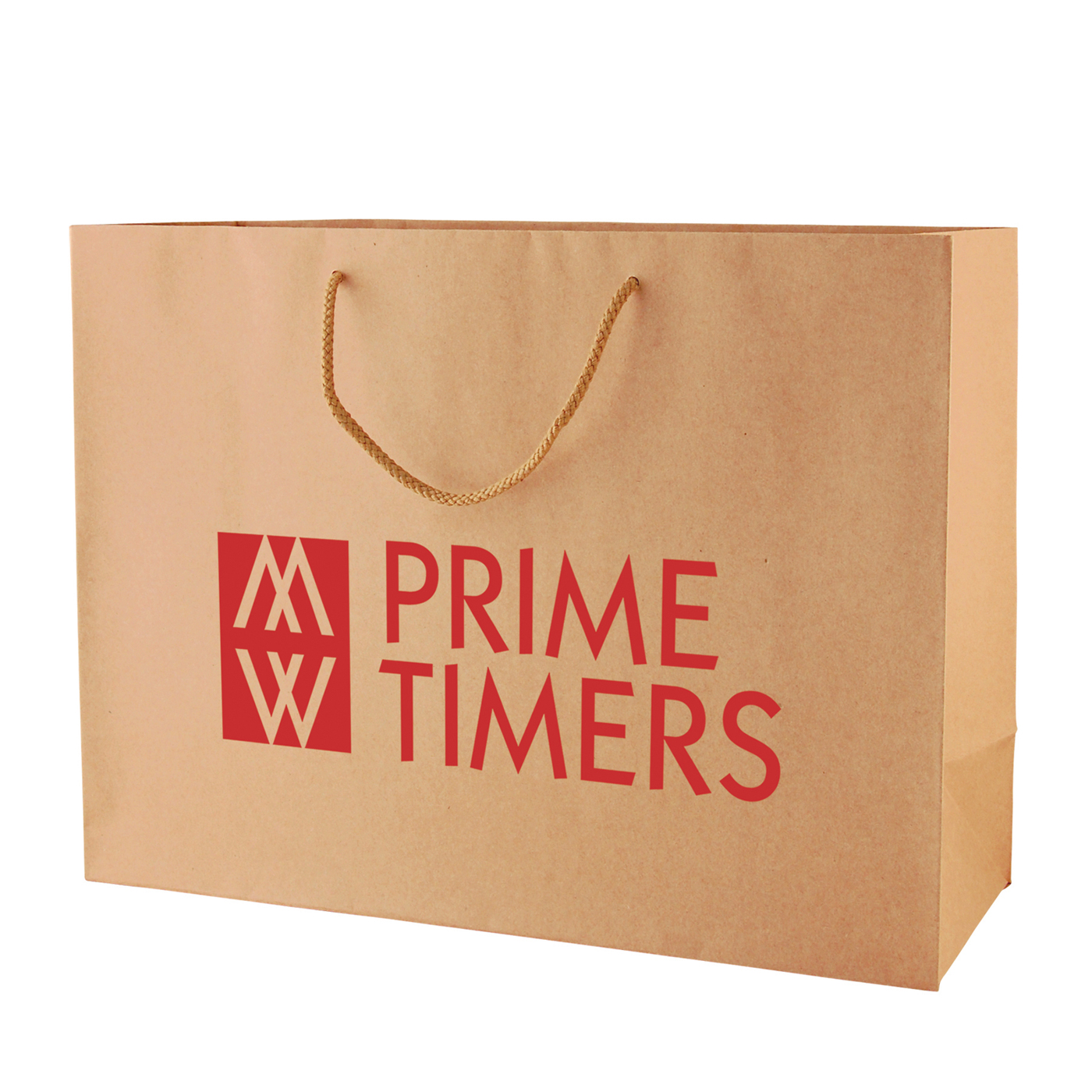 Picture of Natural Kraft Eurotote Bag for Retail