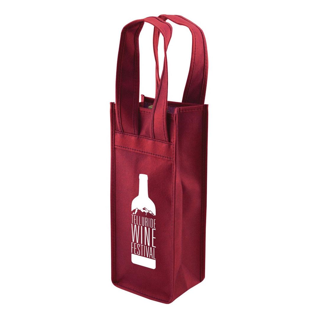 Picture of Premium Non-Woven 1 Bottle Tote