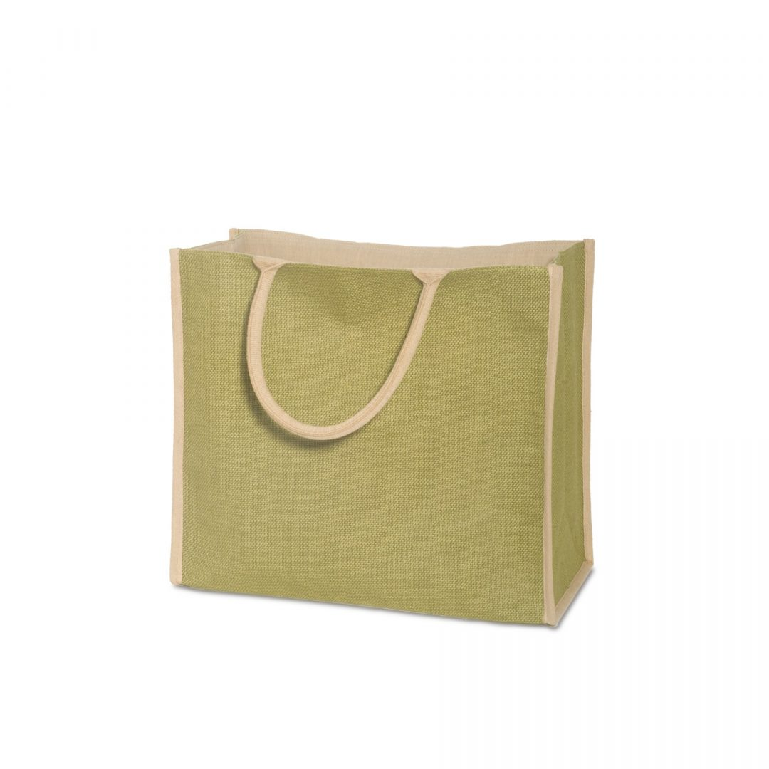Picture of Super Jute Tote Bag with Cotton Lining