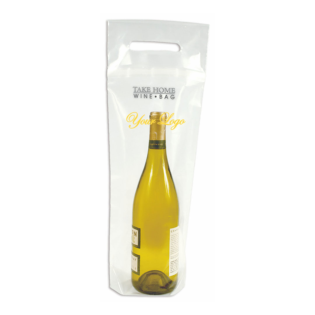 Picture of Take Home Clear Wine Bottle Bag