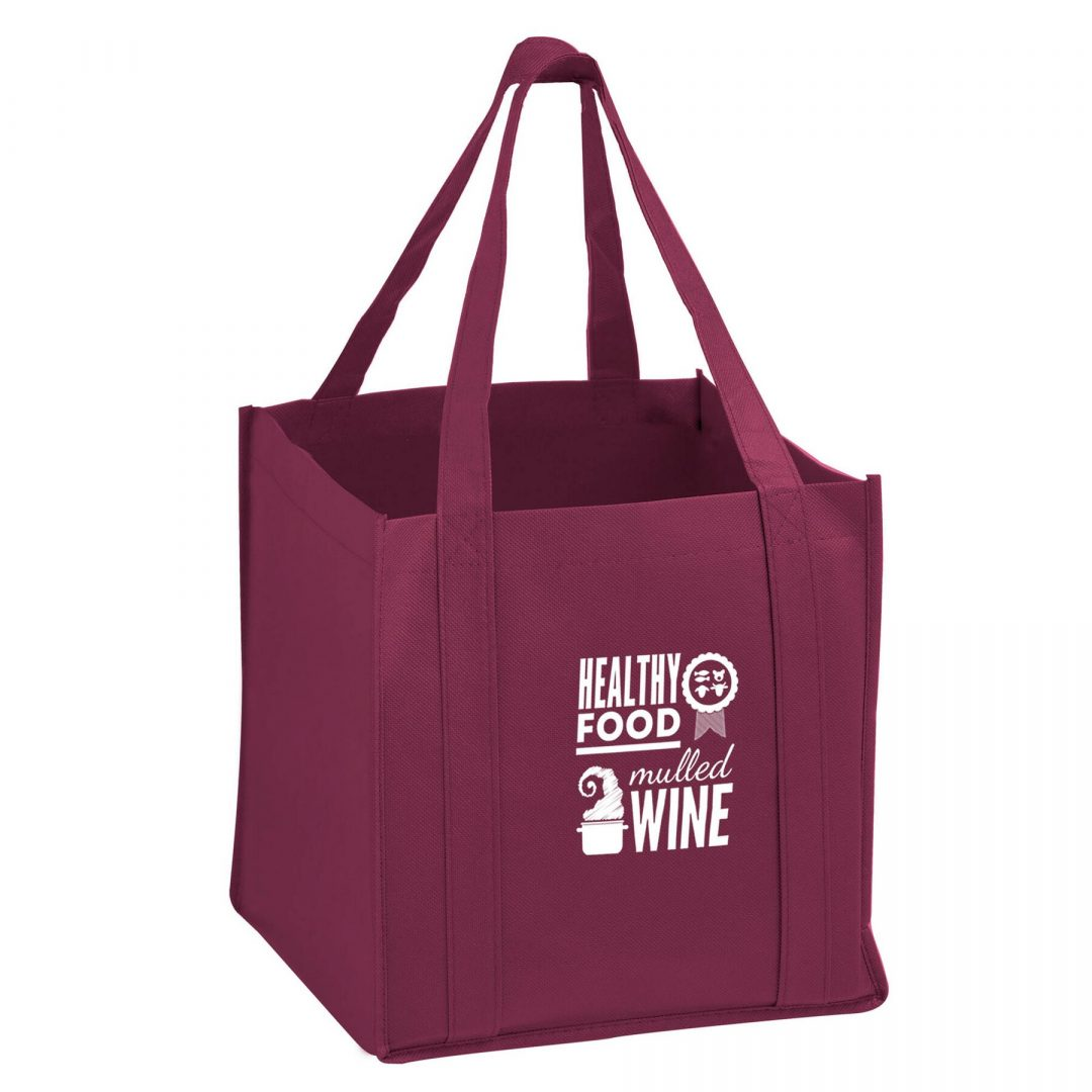 Picture of The Cube Reusable Tote Bag w/Insert