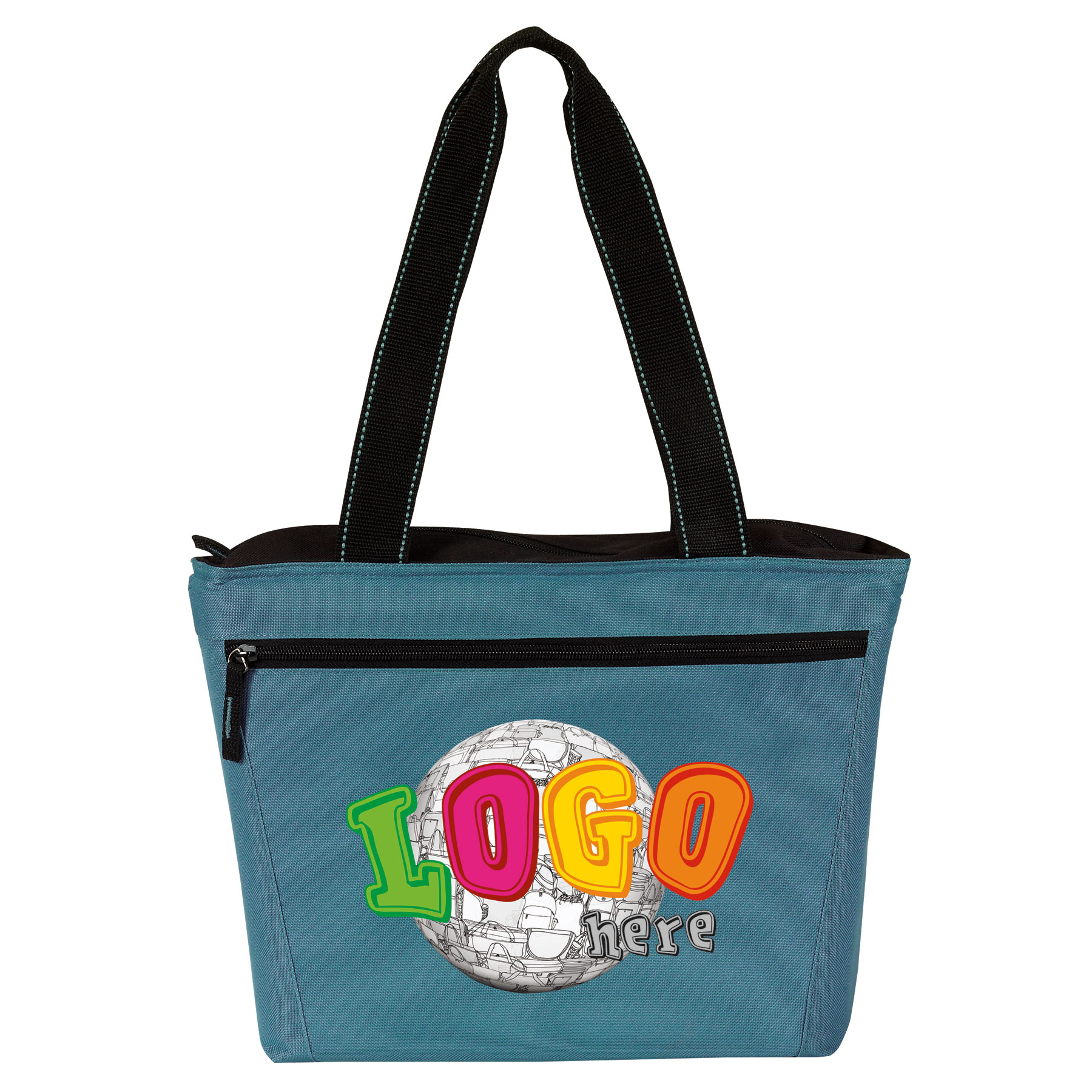 Picture of Two-Tone 12 Pack Cooler Tote